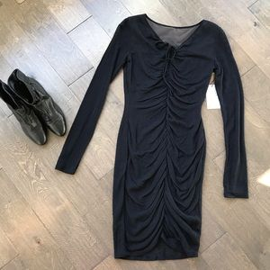 NWT Bailey 44 Ruched Dress